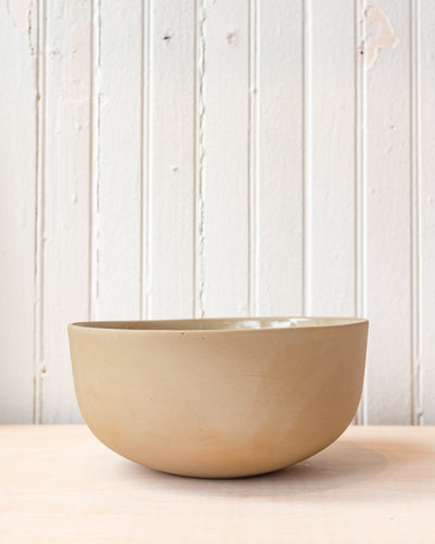 Peaches Sage Serving Bowl