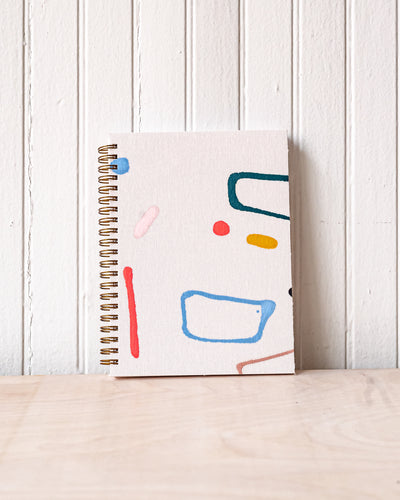 Moglea Painted Journal - Ray