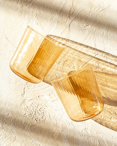 Luisa Vino Glass (set of 2) - Sand