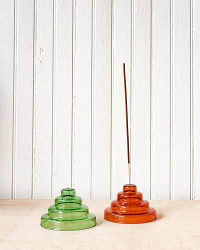 YIELD Glass Meso Incense Holder