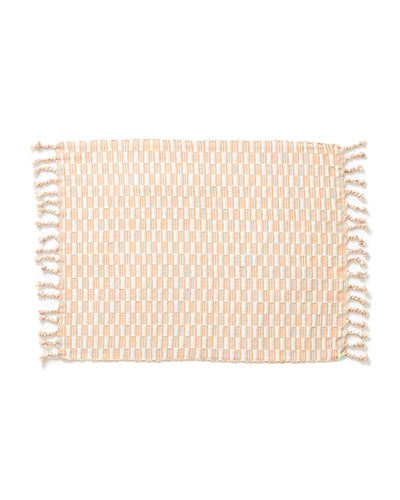 Panalito Placemat - Peach