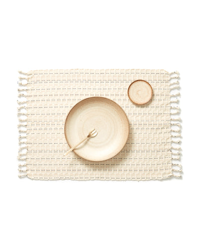 Panalito Placemat - Cream