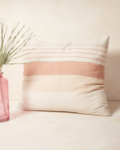 Pantelho Pillow - Peach + Sage