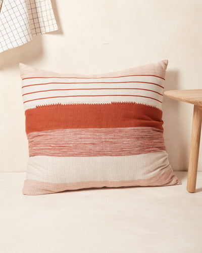 Pantelho Pillow - Rust + Cream
