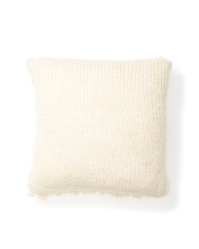 Moon Shag Pillow - Cream