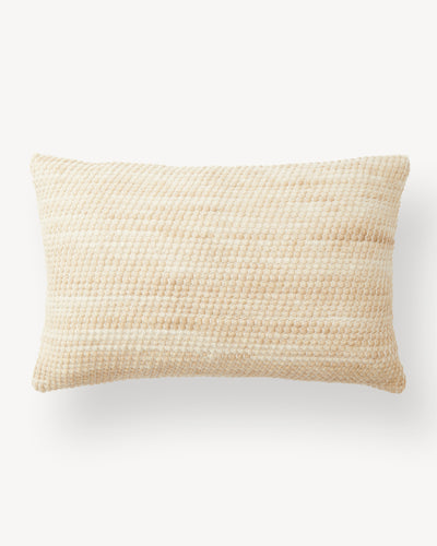 Sheila Lumbar Pillow - Wheat