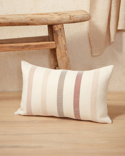Condesa Stripe Lumbar Pillow