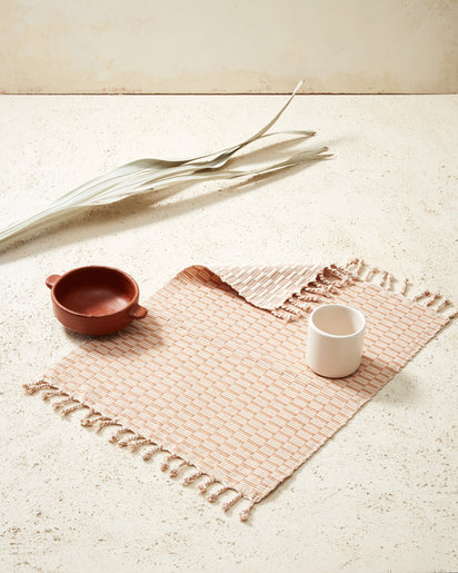 Panalito Placemat Peach