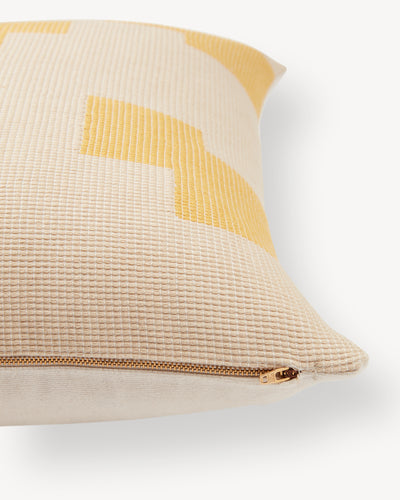 Puzzle Pillow - Lemon
