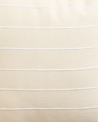 Recycled Stripe Cream — Fabric by the Yard