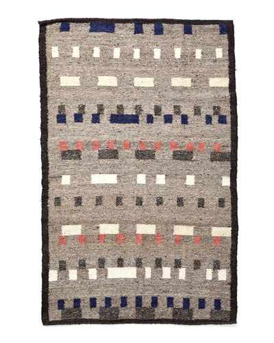 Wandering Mark Rug - Grey