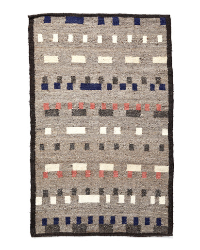 Wandering Mark Rug Grey