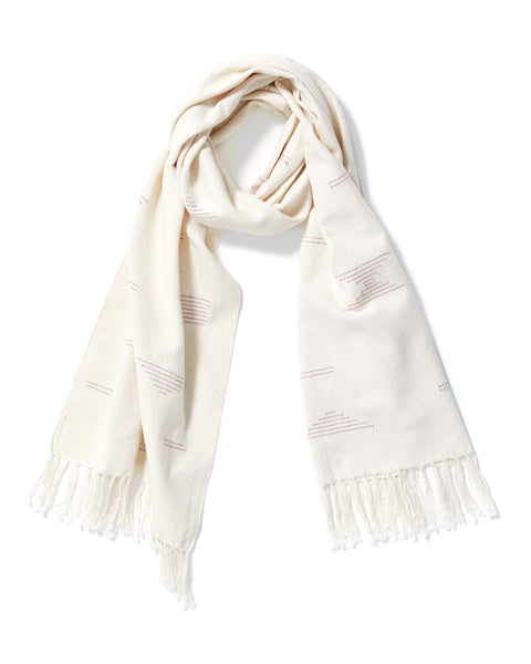 Shapes Scarf Pink
