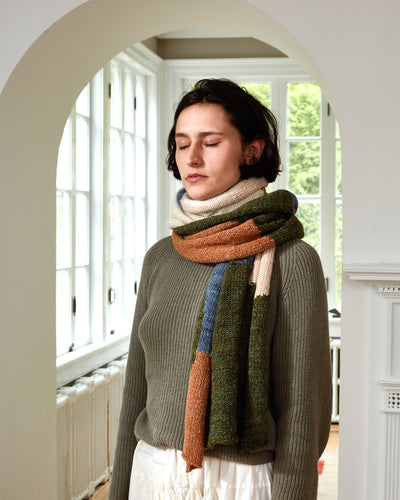 Dunes Scarf - Earth