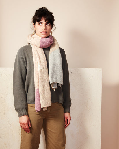 Dunes Scarf Lilac