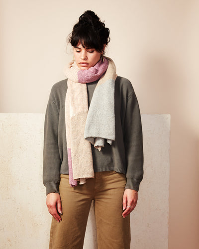 Dunes Scarf - Lilac