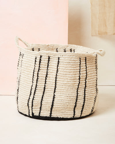 Stripes Basket - Large