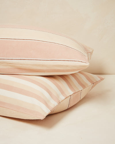 Stripes Pillowcases - Clay