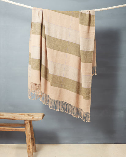 Grid Throw Fern