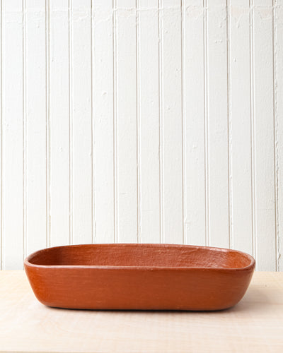 Red Clay Casserole Dish
