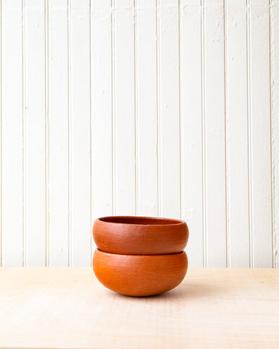 Red Clay Cereal Bowl