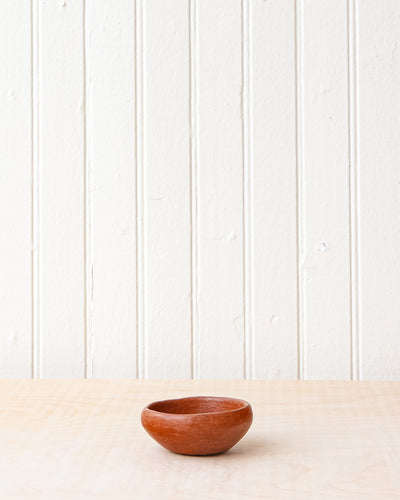 Red Clay Salt Dish