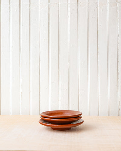 Small Red Clay Plate