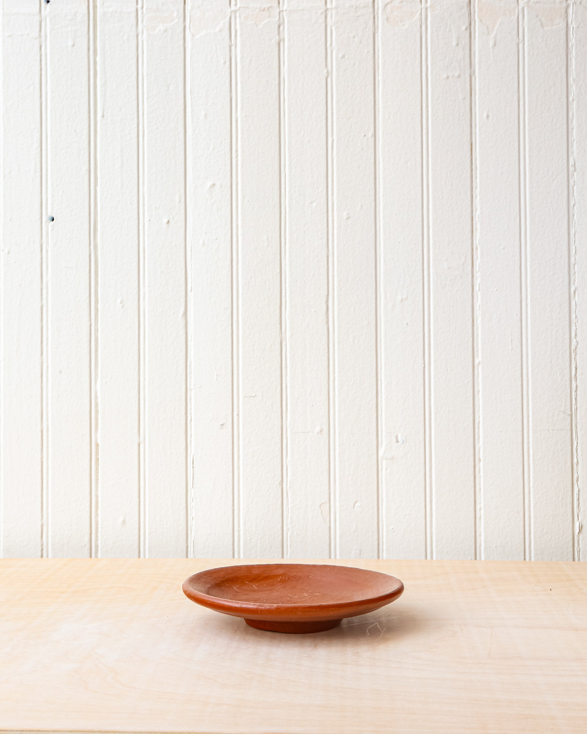 Small Red Clay Plate Ceramics Minna