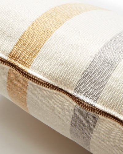 Roma Stripe Lumbar Pillow