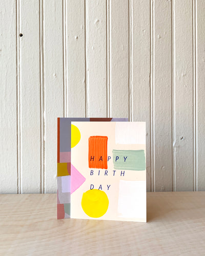Color Spectrum Birthday Card