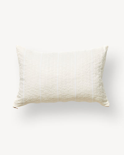 Texture Lumbar Pillow - Cream