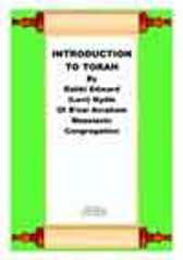 Introduction to Torah, by Edward Nydle (Transcript)