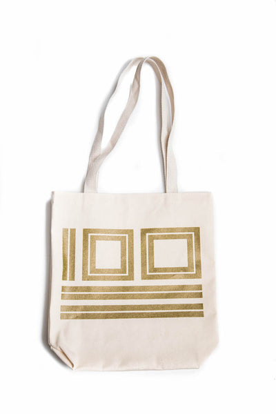 Centennial 100 Years Tote Bag