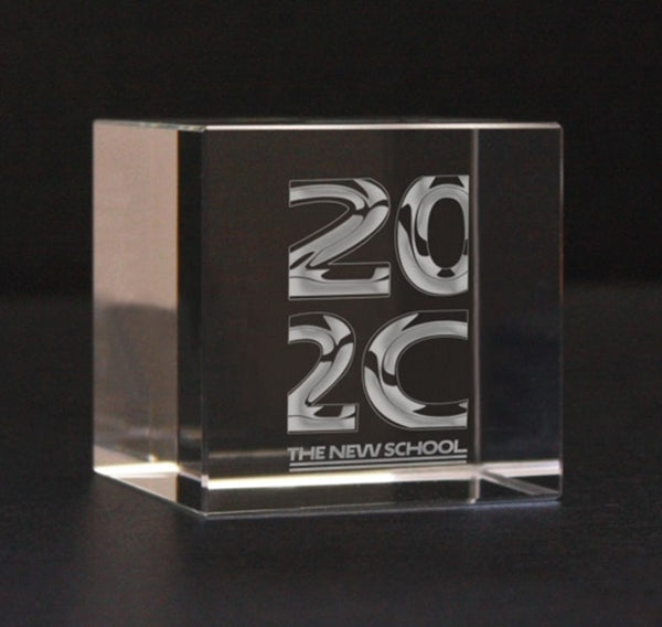 2020 Glass Paperweight