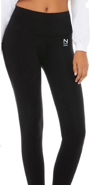 Understated High Waist Leggings