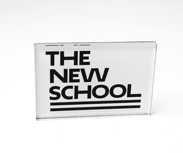 The New School Logo Magnet