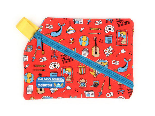 New School X Mokuyobi Angle Zip Pouch