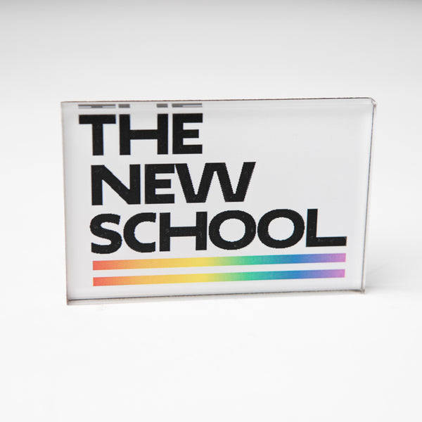 The New School Pride Logo Magnet