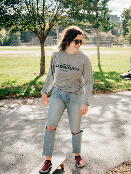 Narwhals Athletics Long Sleeve T-Shirt