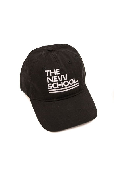 New school cap- Black