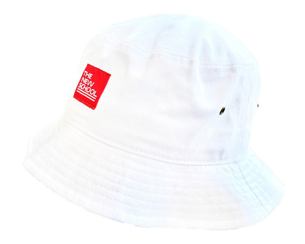 The New School Label Bucket Hat