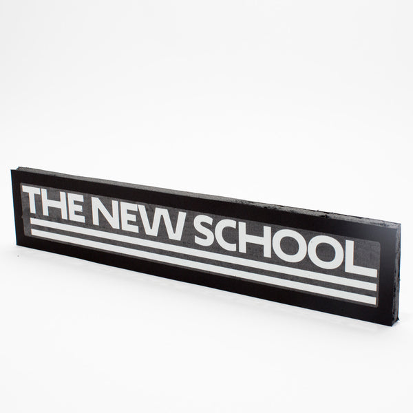 The New School Sticker