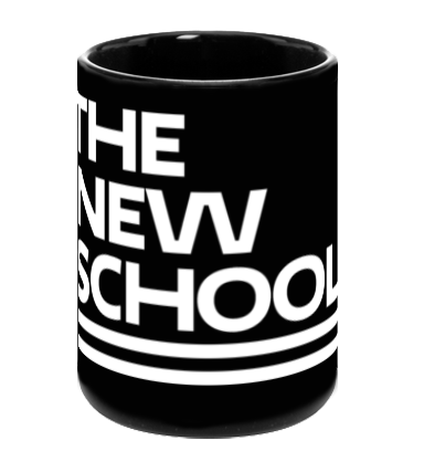 The New School Mug - White Logo