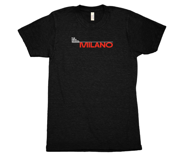 Milano T-Shirt - White & Red Logo