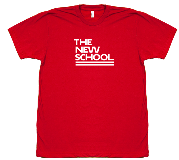 The New School T-Shirt - Red