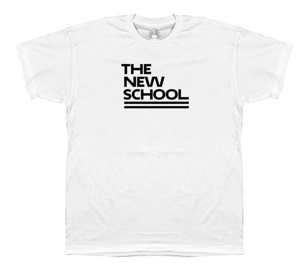 The New School T-Shirt - Black Logo