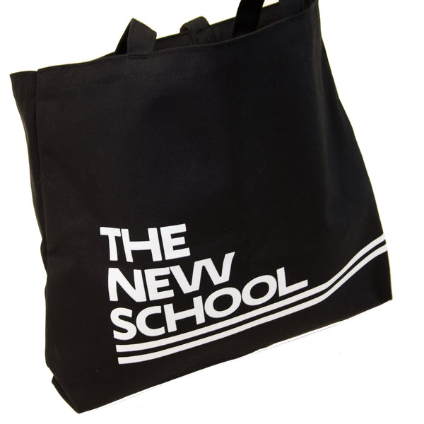 The New School Tote w/Zipper Pocket