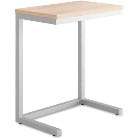 Basyx by HON® Cantilever Occasional Table {Wheat Top}