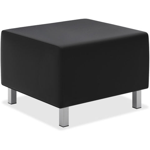 Basyx by HON® Leather Lounge Ottoman