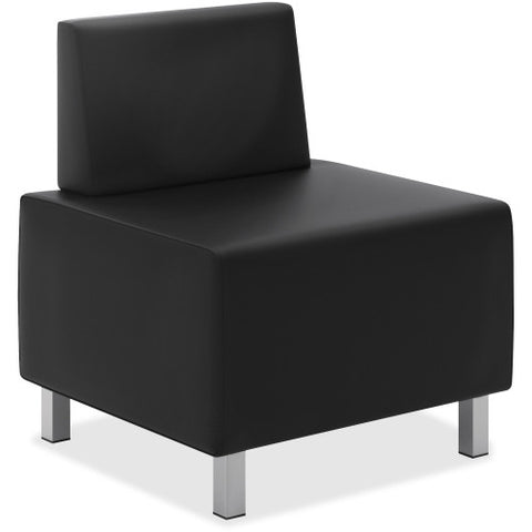 Basyx by HON®  Modular Leather Lounge Chair